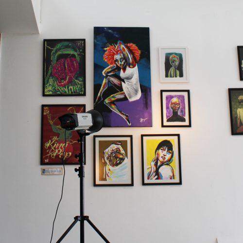 Mutarte – Diego Oliveira expõe suas obras na Praia Brava - Inteligencia Marketing