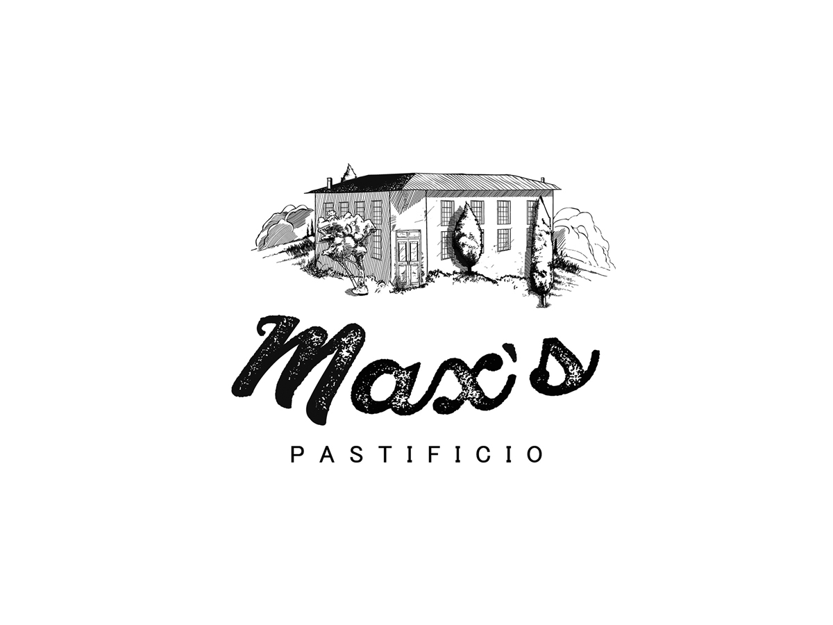 Inteligencia Marketing - MAX'S PASTIFICIO – NOVA IDENTIDADE - MAX-LOGO-APROVADA-011