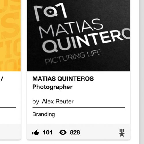 Marca Matias Quinteros ganha destaque internacional pela AIGA - Inteligencia Marketing