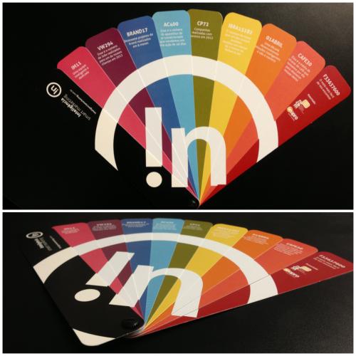 Portfolio inspirado na Tabela Pantone - Inteligencia Marketing