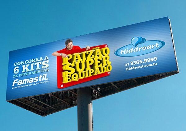 Paizão Super equipado é na Hiddroart - Inteligencia Marketing