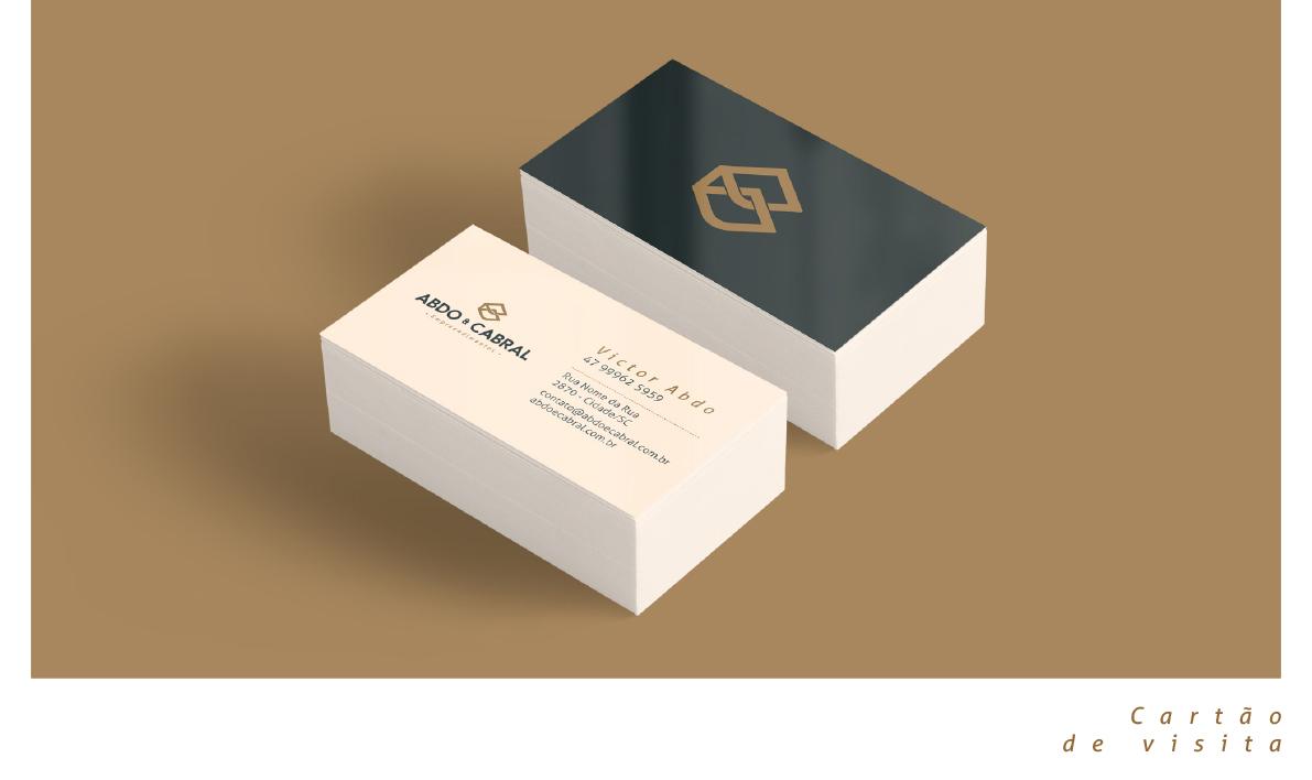 Inteligencia Marketing - Abdo & Cabral – Identidade Visual - Abdoecabral11