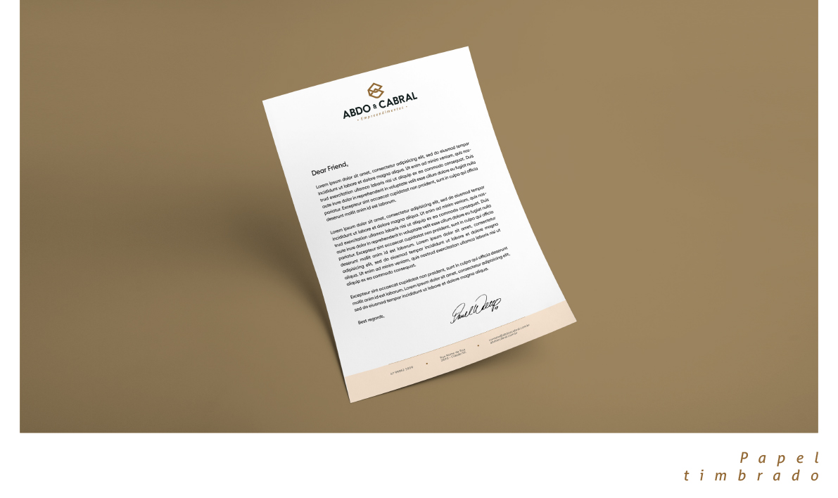 Inteligencia Marketing - Abdo & Cabral – Identidade Visual - Abdoecabral12