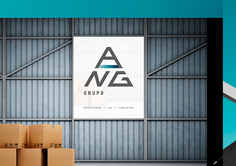 Grupo A N G – Identidade Visual - Inteligencia Marketing